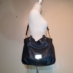 Marc by Marc Jacobs Black Pebbled Leather Purse